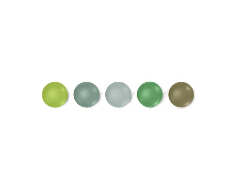 Vitra - Magnet Dots - Set groen - 1