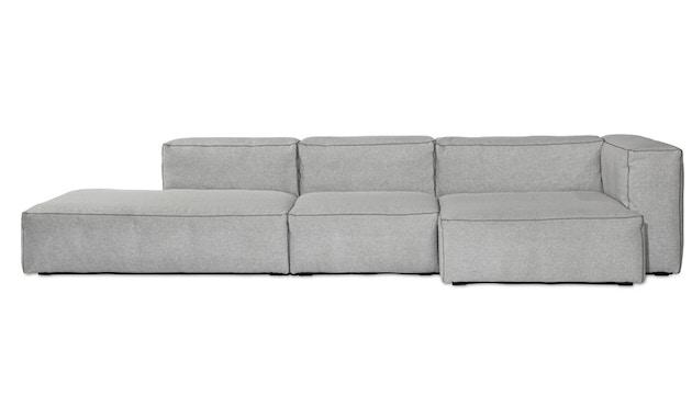 HAY - Mags Soft hoekbank - Hallingdal 110 - beige / lichtgrijs - zwart - 5