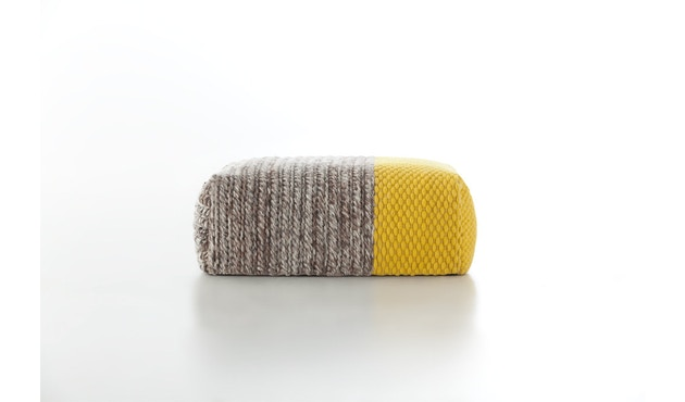 Gan - Manga Pouf - Square Plait yellow - 5