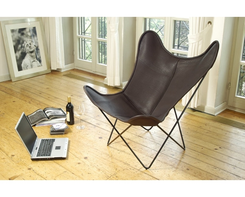 Manufakturplus - Butterfly Chair Hardoy - nekleer - 6