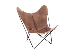 Manufakturplus - Butterfly Chair Hardoy - Vintage - Cuir - 9