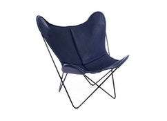 Manufakturplus - Butterfly Chair Hardoy - cuir - 9