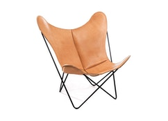 Manufakturplus - Butterfly Chair Hardoy - Sattel-Leder - 10
