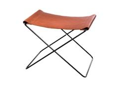 Fußteil für Hardoy Butterfly Chair  - Biobüffel-Leder