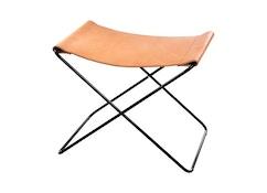 Fußteil für Hardoy Butterfly Chair  - Sattel-Leder