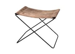 Fußteil für Hardoy Butterfly Chair  - Vintage-Leder