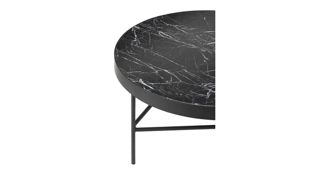 ferm LIVING - Marble Tisch - schwarz - 2