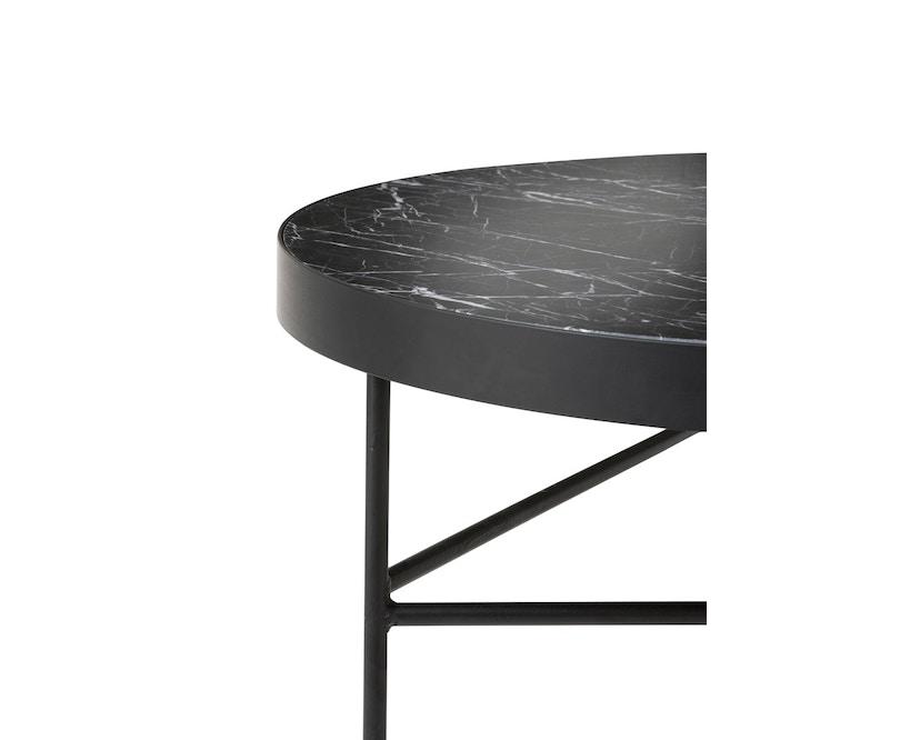 ferm LIVING - Marble Tisch - schwarz - 3