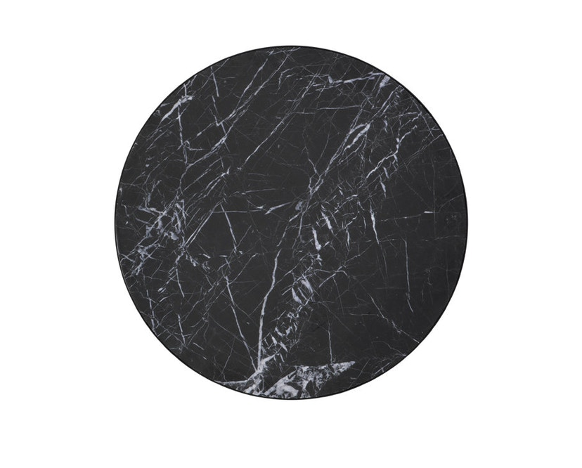 ferm LIVING - Marble Tisch - schwarz - 4