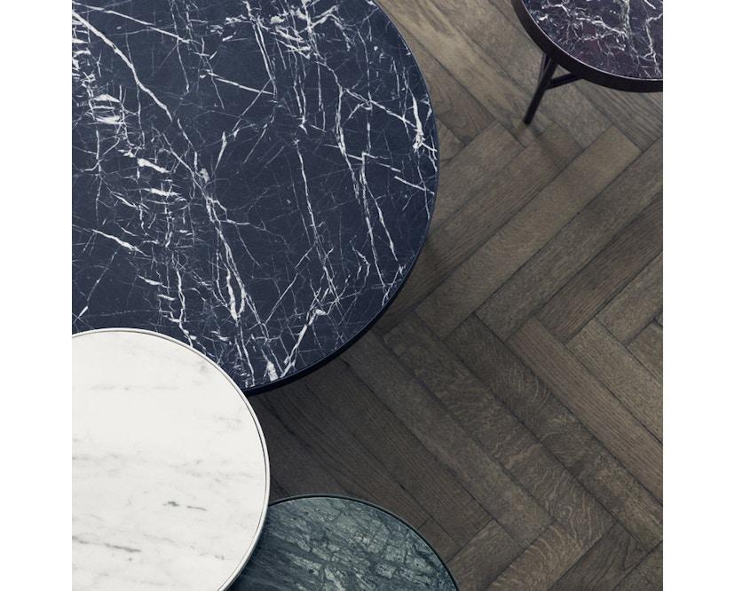 ferm LIVING - Marble Tisch - schwarz - 5