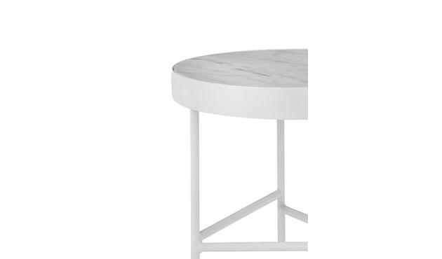 ferm LIVING - Marble Tisch - weiß - 2