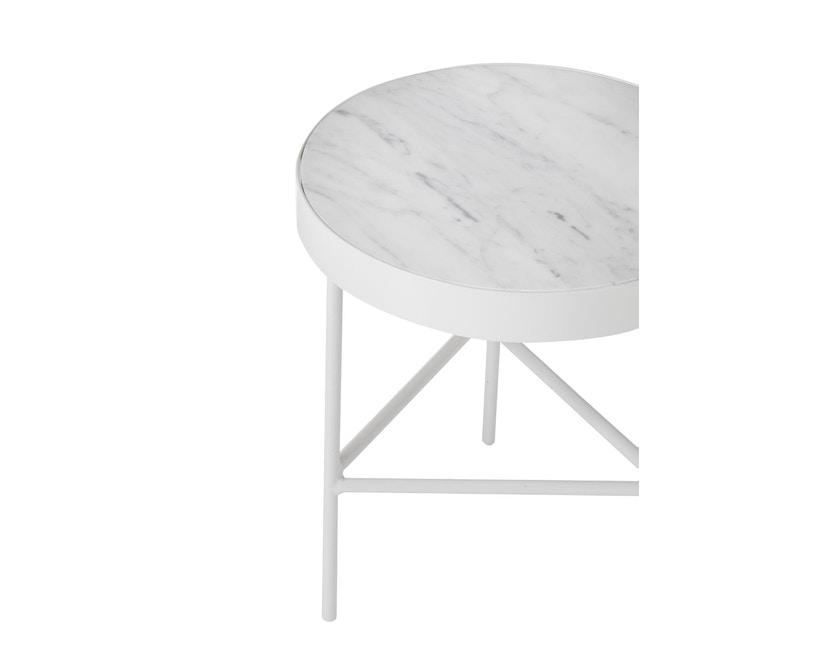 ferm LIVING - Marble Tisch - weiß - 3
