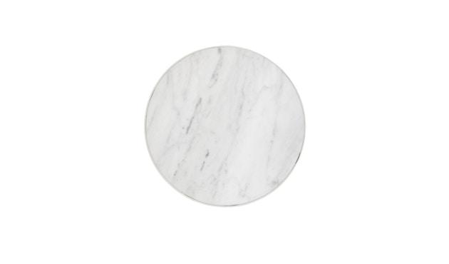 ferm LIVING - Marble Tisch - weiß - 4