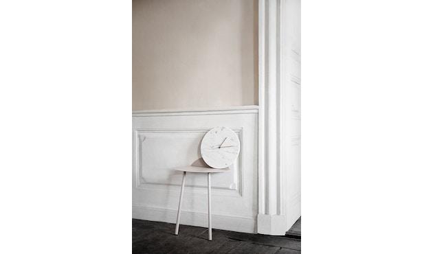 Menu - Marble Wall Clock Wanduhr- schwarz - 12