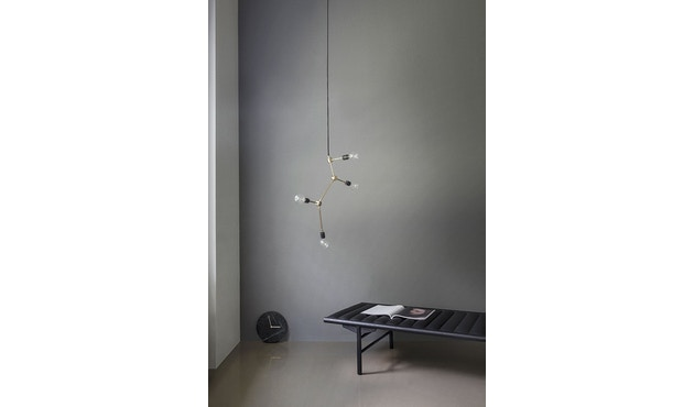 Menu - Marble Wall Clock Wanduhr- schwarz - 13