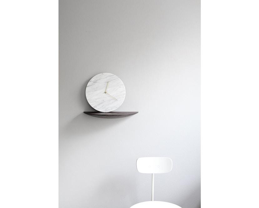 Menu - Marble Wall Clock Wanduhr- schwarz - 3