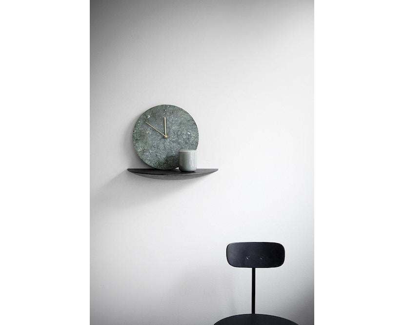 Menu - Marble Wall Clock Wanduhr- schwarz - 5