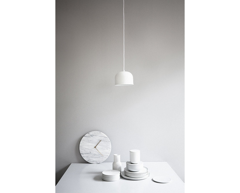 Menu - Marble Wall Clock Wanduhr- schwarz - 7