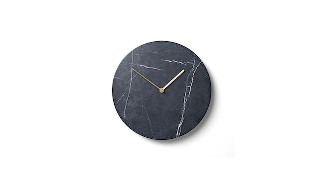 Menu - Marble Wall Clock Wanduhr- schwarz - 1