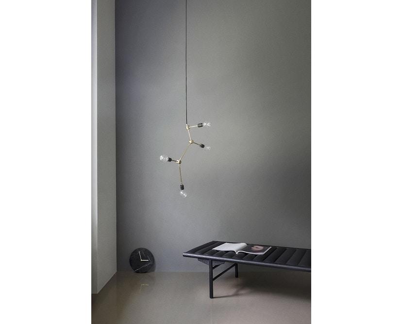 Menu - Marble Wall Clock Wanduhr - weiß - 13