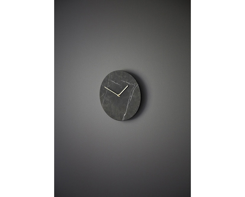 Menu - Marble Wall Clock Wanduhr - weiß - 14