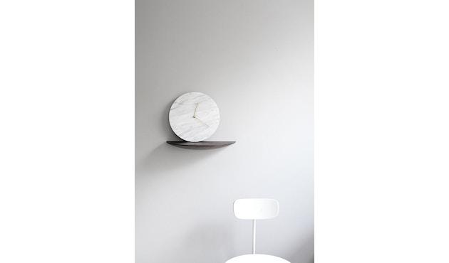 Menu - Marble Wall Clock Wanduhr - weiß - 3