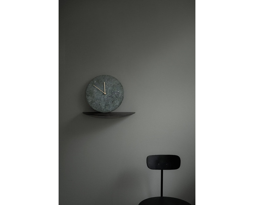 Menu - Marble Wall Clock Wanduhr - weiß - 4