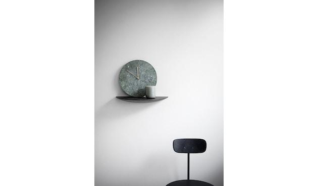 Menu - Marble Wall Clock Wanduhr - weiß - 5