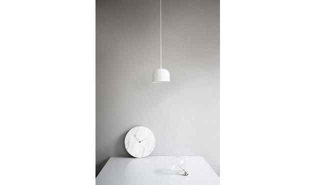 Menu - Marble Wall Clock Wanduhr - weiß - 6
