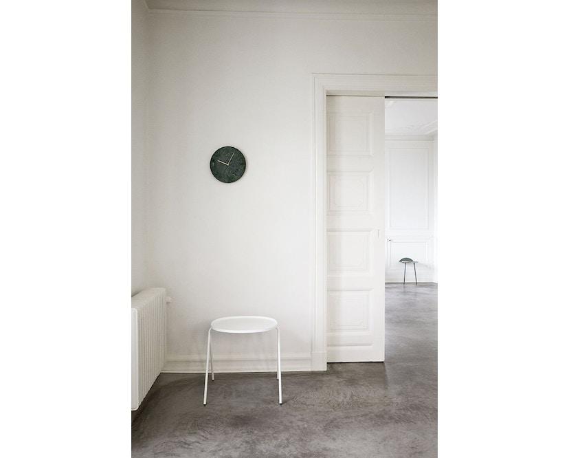 Menu - Marble Wall Clock Wanduhr - weiß - 8