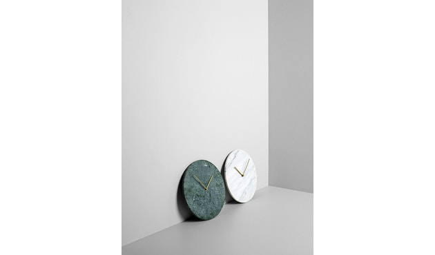 Menu - Marble Wall Clock Wanduhr - weiß - 9