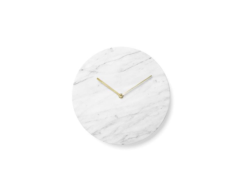 Menu - Marble Wall Clock Wanduhr - weiß - 1