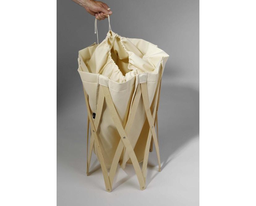 Klein & More - Sac à linge Marie Pi - sac de lessive - noir - 4