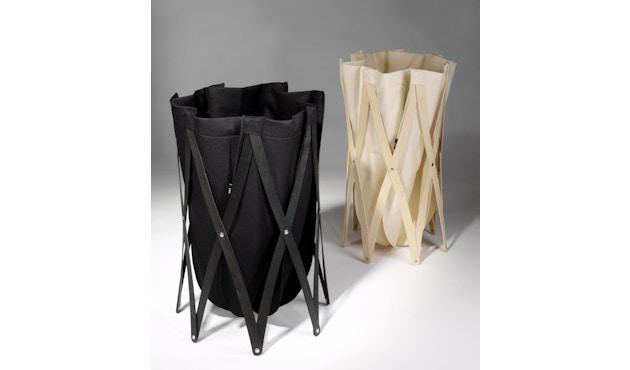 Klein & More - Sac à linge Marie Pi - sac de lessive - noir - 5