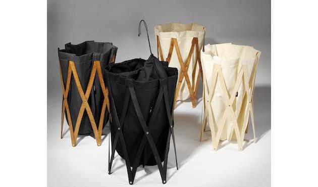 Klein & More - Sac à linge Marie Pi - sac de lessive - noir - 8