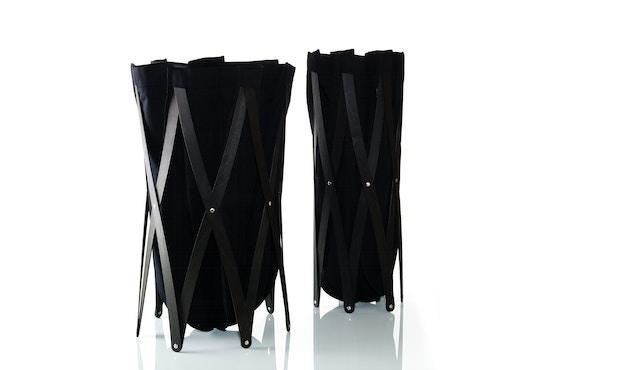 Klein & More - Marie Pi Wäschebeutel - schwarz - OHNE Gestell - 1