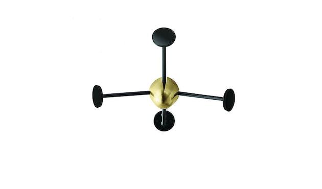 Gubi - Matégot Coatrack - zwart - 1