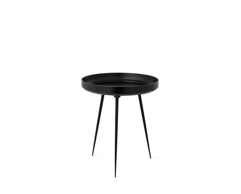 Mater - Bowl Aluminiumtisch - schwarz - 1