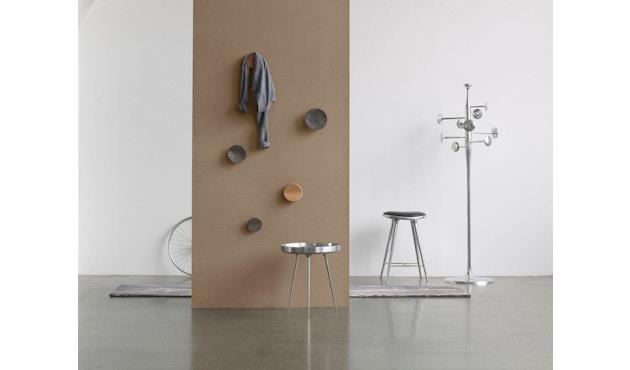 Mater - Bowl Aluminiumtisch - schwarz - 2