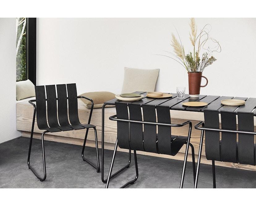 Mater - Ocean Tisch - schwarz - 4 Personen - 3