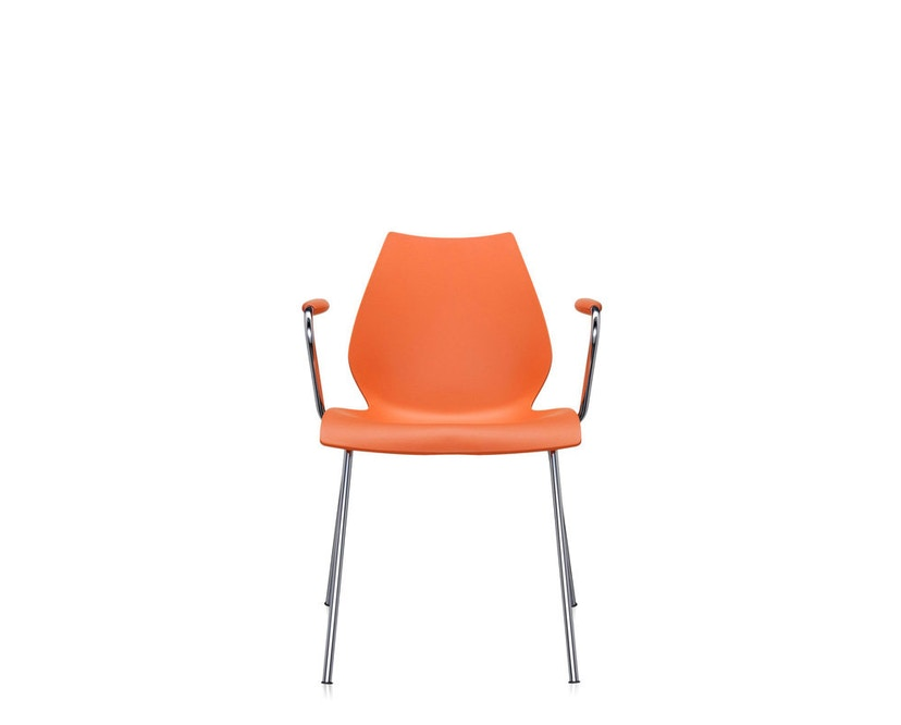 Kartell - Maui Armlehnstuhl - orange - 6