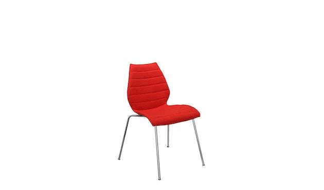 Kartell - Maui Soft stoel - Trevira rood - 9