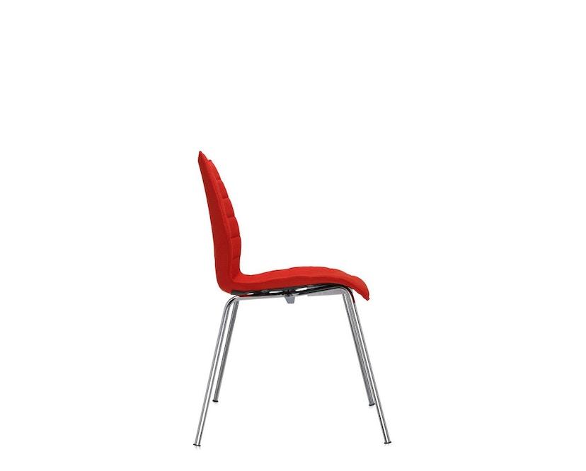 Kartell - Maui Soft stoel - Trevira rood - 11