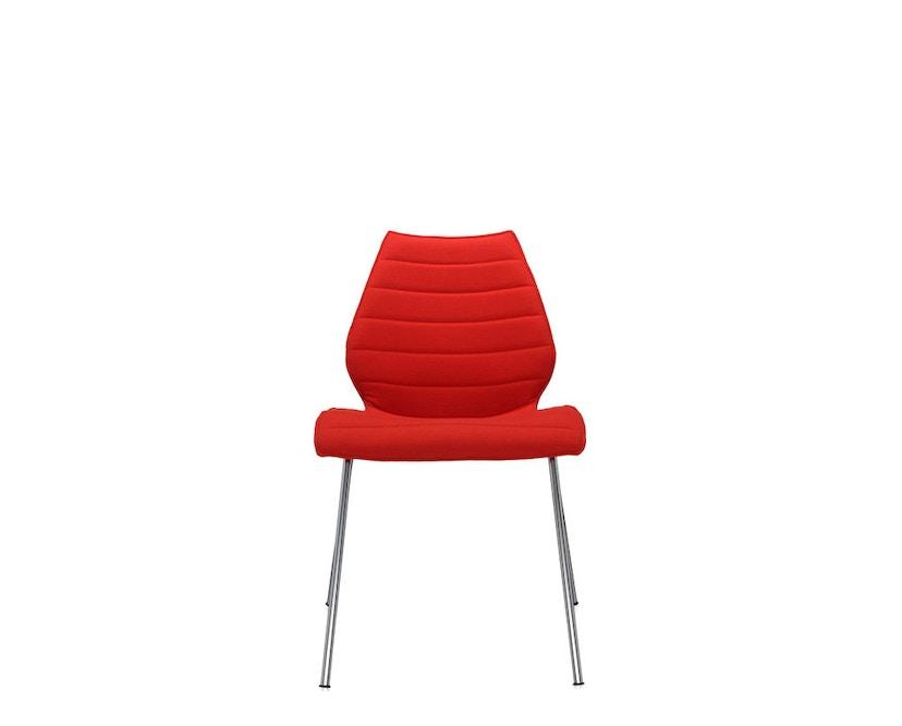 Kartell - Maui Soft stoel - Trevira rood - 10