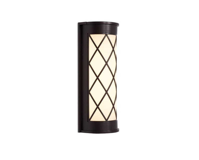 Mawa Design - Grunewald Außenwandleuchte - bronze metallic - ohne Downlight - 1