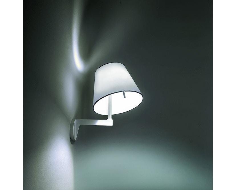 Artemide - Melampo wandlamp - aluminiumgrijs - ohne Ein/Ausschalter - 4