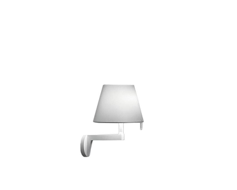 Artemide - Melampo wandlamp - aluminiumgrijs - ohne Ein/Ausschalter - 1