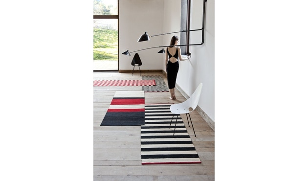 Nanimarquina - Mélange Stripes 2 Teppich - mehrfarbig - 80 x 240 - 3