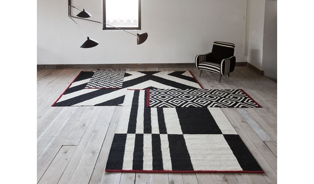 Nanimarquina - Mélange Stripes 1 Teppich - mehrfarbig - 80 x 240 - 5