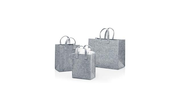 Iittala - Meno Tasche, 35x30x20cm - grau - 2